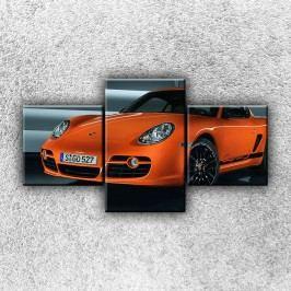 Porsche 2 (90 x 50 cm) -  Třídílný obraz