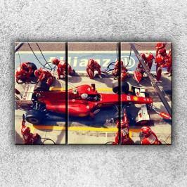 Formule v depu 3 (120 x 80 cm) -  Třídílný obraz