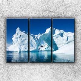Ledovce 2 (120 x 80 cm) -  Třídílný obraz