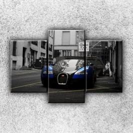 High tech auto 2 (105 x 70 cm) -  Třídílný obraz
