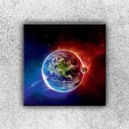 Dva světy 1 (30 x 30 cm) -  Jednodílný obraz