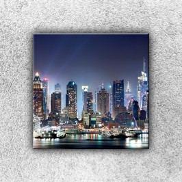 Město světel 1 (30 x 30 cm) -  Jednodílný obraz