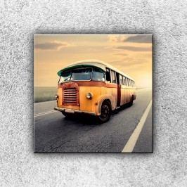 Starý autobus 1 (30 x 30 cm) -  Jednodílný obraz