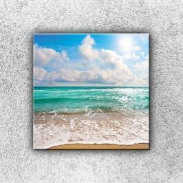 Tyrkysové moře 1 (30 x 30 cm) -  Jednodílný obraz