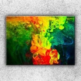 Rozpuštěné barvy 1 (70 x 50 cm) -  Jednodílný obraz