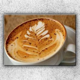 Šálek kávy 2 (70 x 50 cm) -  Jednodílný obraz