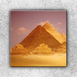 Pyramidy 1 (70 x 70 cm) -  Jednodílný obraz