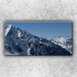 Bílé hory (100 x 50 cm) -  Jednodílný obraz