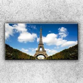 Eifelovka (100 x 50 cm) -  Jednodílný obraz