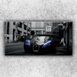 High tech auto 1 (100 x 50 cm) -  Jednodílný obraz