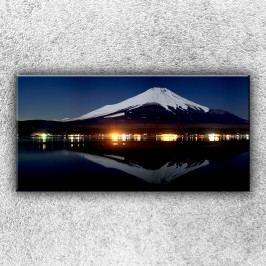 Jezerní panorama (100 x 50 cm) -  Jednodílný obraz