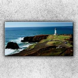 Maják na útesu (100 x 50 cm) -  Jednodílný obraz
