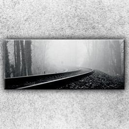 Koleje (120 x 50 cm) -  Jednodílný obraz