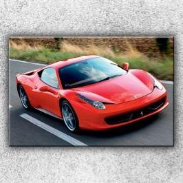 Červené Ferrari 2 (120 x 80 cm) -  Jednodílný obraz