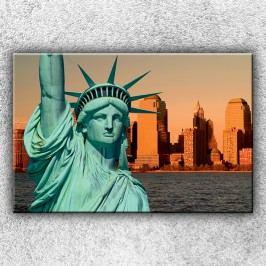 Detail sochy svobody (120 x 80 cm) -  Jednodílný obraz