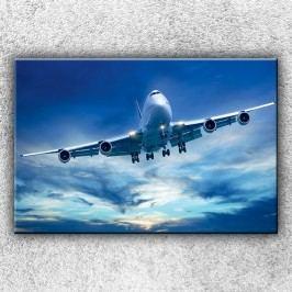 Dopravní letadlo 2 (120 x 80 cm) -  Jednodílný obraz