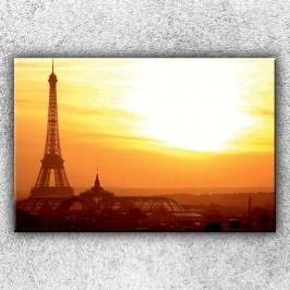Eifelovka při západu slunce (120 x 80 cm) -  Jednodílný obraz