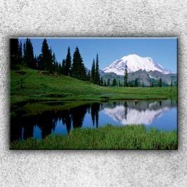 Horské jezírko (120 x 80 cm) -  Jednodílný obraz