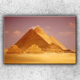 Pyramidy 2 (120 x 80 cm) -  Jednodílný obraz