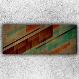 Abstrakce z pruhů 3 (150 x 60 cm) -  Jednodílný obraz