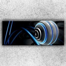 Abstraktní koule 1 (150 x 60 cm) -  Jednodílný obraz