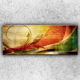 Abstraltní motiv (150 x 60 cm) -  Jednodílný obraz