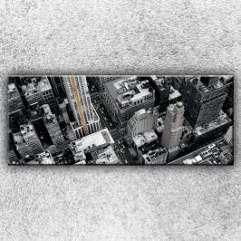 Černobílé město 3 (150 x 60 cm) -  Jednodílný obraz