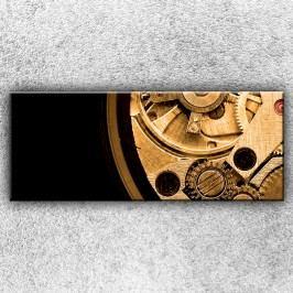 Hodinový strojek 1 (150 x 60 cm) -  Jednodílný obraz