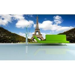 Eiffelova vež (126 x 81 cm) -  Fototapeta na zeď