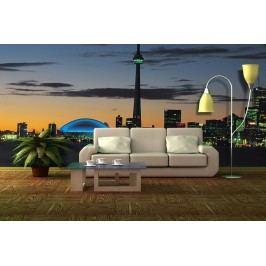 Noční město 2 (126 x 83 cm) -  Fototapeta