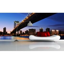 Most k městu (126 x 84 cm) -  Fototapeta na zeď