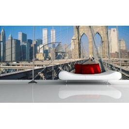 Most v New Yorku (126 x 84 cm) -  Fototapeta na zeď