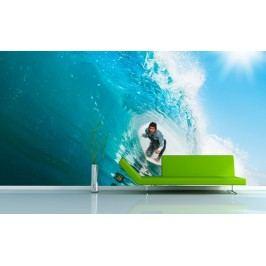 Surfař (126 x 89 cm) -  Fototapeta na zeď