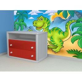 Dinosauři (126 x 99 cm) -  Fototapeta na zeď