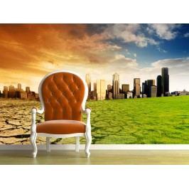 Globální oteplování 1 (126 x 126 cm) -  Fototapeta