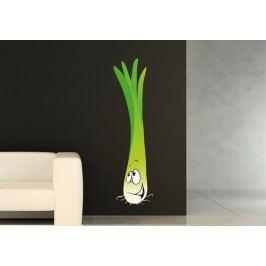 Jarní cibulka (60 x 16 cm) -  Barevná samolepka na stěnu