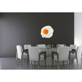 Vajíčko (16 x 16 cm) -  Barevná samolepka na zeď