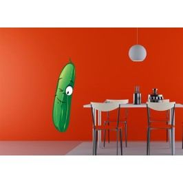 Okurka (60 x 17 cm) -  Barevná samolepka