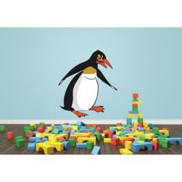 Tučňák (50 x 43 cm) -  Barevná samolepka na zeď