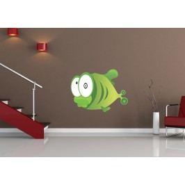 Ryba 3 (60 x 45 cm) -  Barevná samolepka na zeď