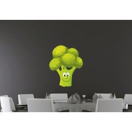Brokolice (60 x 49 cm) -  Barevná samolepka na zeď