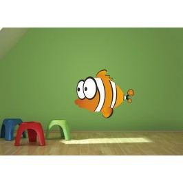 Ryba 1 (60 x 49 cm) -  Barevná samolepka na zeď
