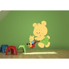 Medvídci (60 x 51 cm) -  Barevná samolepka na zeď