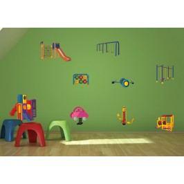 Dětské prolejzačky - Barevná samolepka na zeď