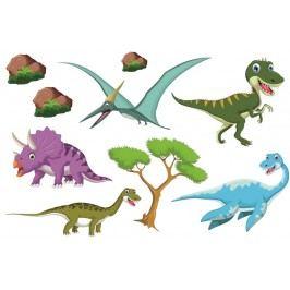 Set dinosauři 2 (60 x 40 cm) -  Samolepky na stěnu
