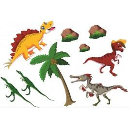 Set dinosauři 3 (60 x 40 cm) -  Samolepky na stěnu