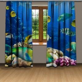Mořské dno (140 x 250 cm) -  Dekorační závěs