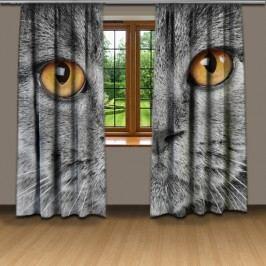 Závěsy kočičí pohled (140 x 250 cm) -  Dekorační závěs
