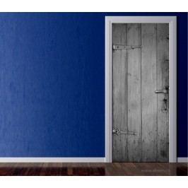 Dřevo (92 × 210 cm) -  Živá dekorace na dveře