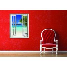 Pohled na moře (80 x 62 cm) -  Okno živá dekorace